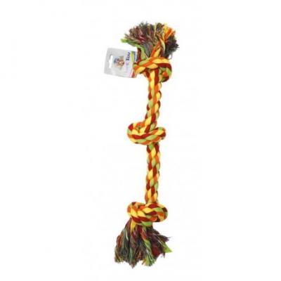 Virvelinis žaislas su trim mazgais 50.8cm