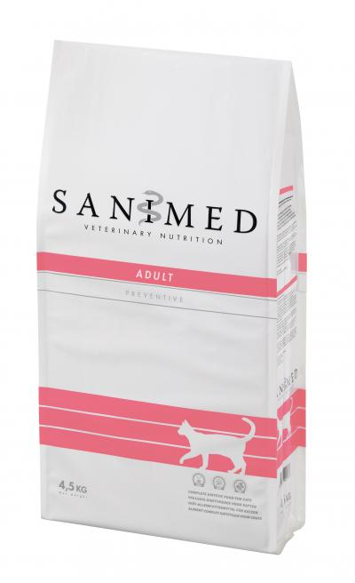 SANIMED Adult katėms 4.5kg