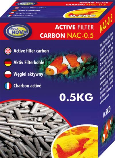 AQUA NOVA aktyvuota anglis 0.5kg