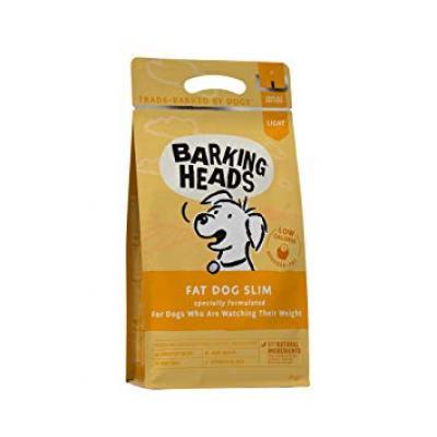 BARKING HEADS Fat Dog Slim lieknėjantiems (Vištiena) 2kg