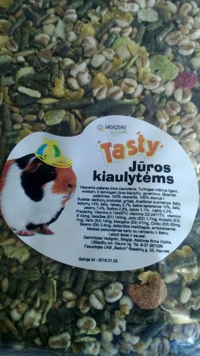 VADIGRAN TASTY pašaras jūrų kiaulytėms 0,5kg