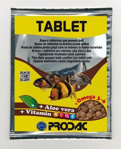 PRODAC TABLET tabletės dugninėms žuvims 12g