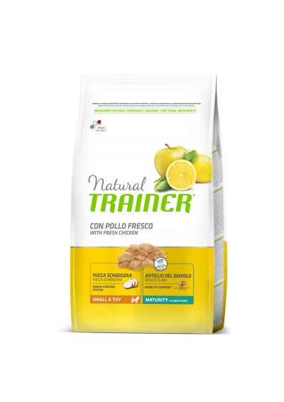 Trainer Natural MATURITY MINI seniems šunims (Vištiena) 800g