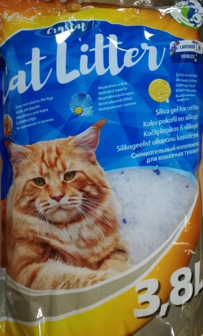 PERFECT CAT silikoninis kačių smėlis be kvapo 3.8l