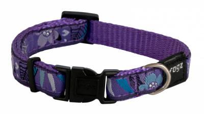 ROGZ antkaklis 26-40x1.6cm Purple Forest