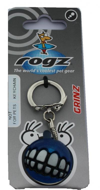 ROGZ Grinz raktų pakabukas mėlynas