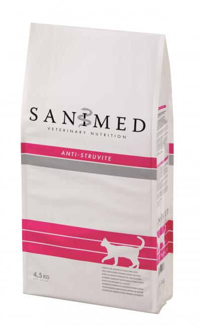 SANIMED Anti-Struvite katėms 4.5kg