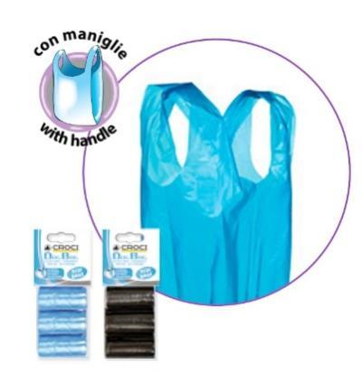Higieniniai mėlyni maišiukai šunims, 3x20vnt