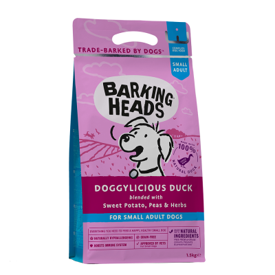 BARKING HEADS Doggylicious Duck Grain Free (Antiena) 1.5kg