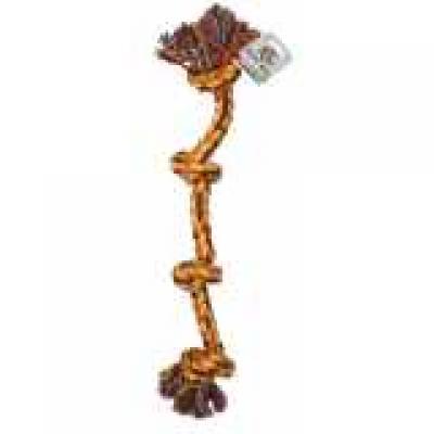 Virvelinis žaislas su keturiais mazgais 63.5cm
