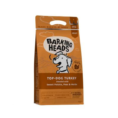 BARKING HEADS Top Dog Turkey Grain Free (Kalakutiena) 2kg