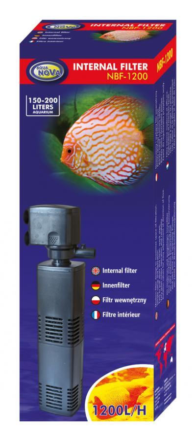 AQUA NOVA vidinis filtras 1200l/h 150-200l
