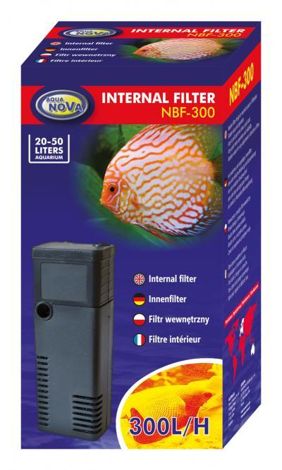 AQUA NOVA vidinis filtras 300l/h 20-50l