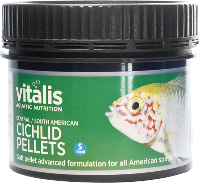 VITALIS Central/South American Cichlid Pellets (S) 1.5mm 60g