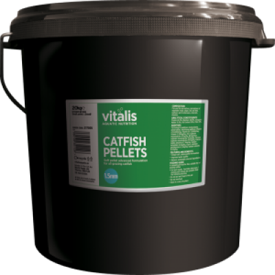 VITALIS Catfish Pellets (S) 1.5mm 20kg