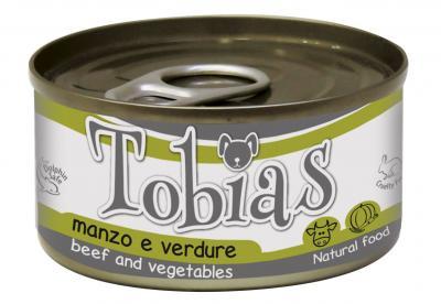 TOBIAS konservai šunims su jautiena ir daržovėmis 170g