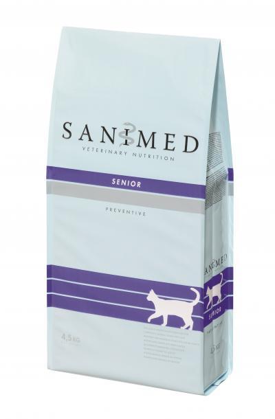 SANIMED Senior katėms 4.5kg