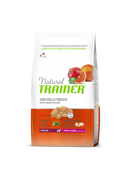 Trainer Natural PUPPY MEDIUM (Vištiena) 3kg