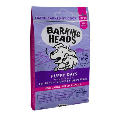 BARKING HEADS Puppy Days Large Breed šuniukams be grūdų 12kg