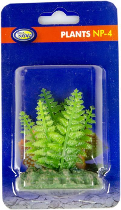 AQUA NOVA plastikinis augalas 4cm