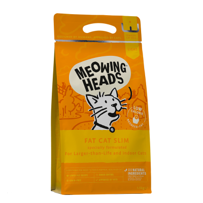 MEOWING HEADS Fat Cat Slim Grain Free 1.5kg