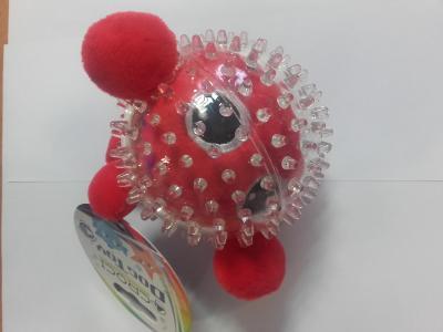 Žaislas kamuoliukas raudonas