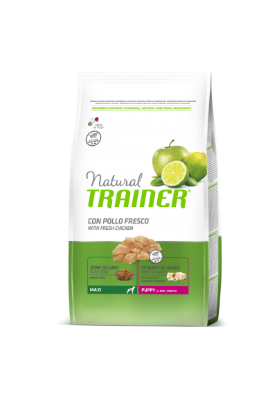Trainer Natural PUPPY MAXI 1-8 (Vištiena) 12kg