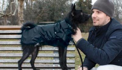 Paltukas nuo lietaus MONTREAL juodas 80cm