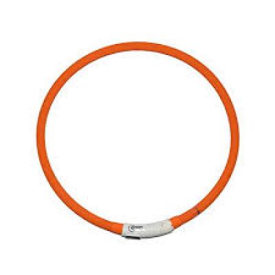 LED Collar with Usb, 40cm Orange