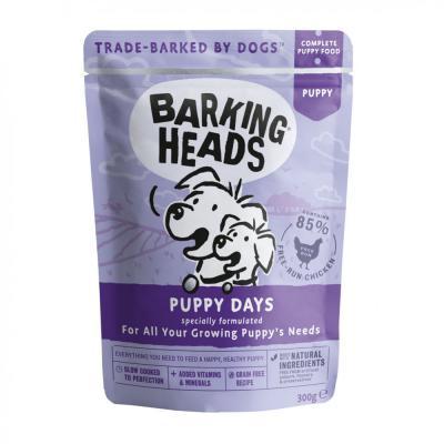 BARKING HEADS Puppy Days konsevai šuniukams 300g