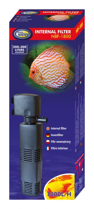 AQUA NOVA vidinis filtras 1800l/h 200-300l