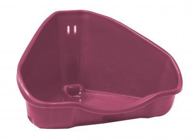 CROCI tualetas kampinis graužikams 16X12X8cm