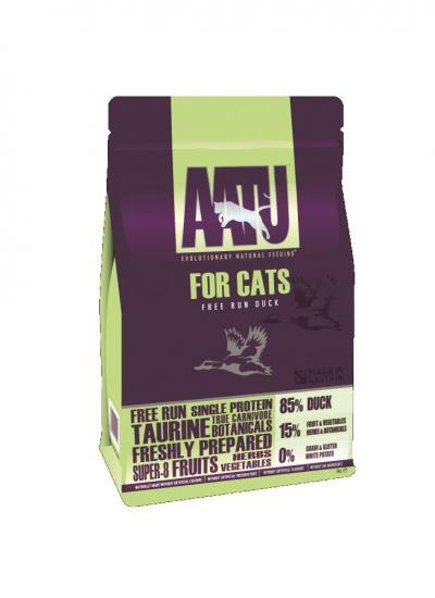 AATU pašaras katėms 85/15 su antiena 200g