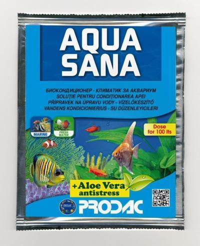 PRODAC AQUASANA vandens kondicionierius 25ml/100l