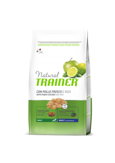 Trainer Natural ADULT MAXI (Vištiena) 12kg