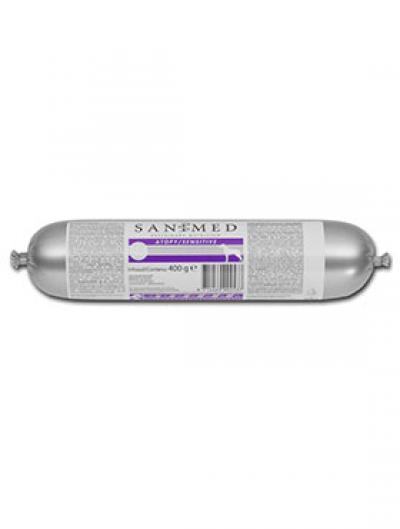 SANIMED Skin/Sensitive (Atopy) Dešra šunims 0.4kg