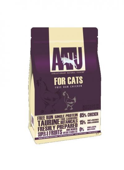 AATU pašaras katėms 85/15 su vištiena 3kg