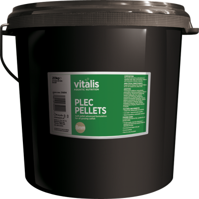 VITALIS Plec Pellets (8mm) 20kg
