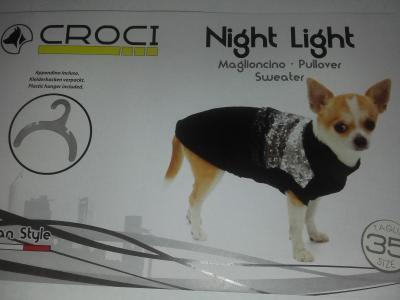 Megztinis NIGHTLIGHT 40cm