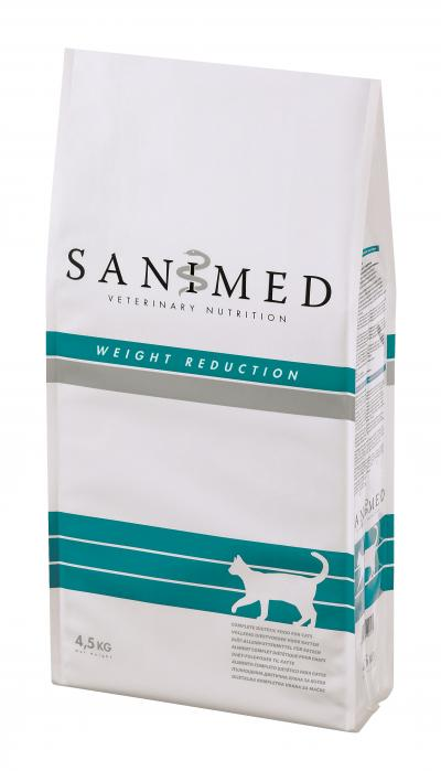 SANIMED Weight Reduction katėms 4.5kg