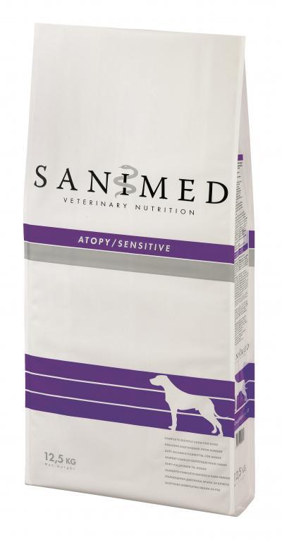 SANIMED Skin/Sensitive šunims 12.5kg