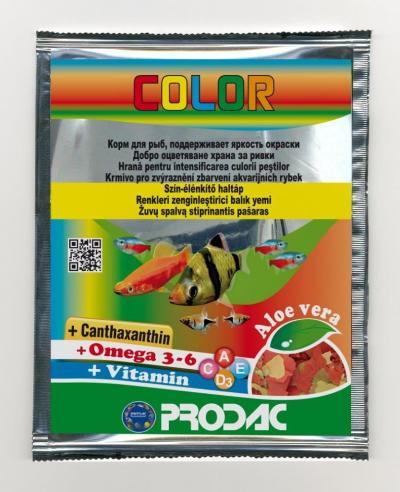 PRODAC COLOR dribsniai ryškinantys spalvas 12g