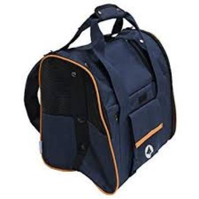 CROCI SCARLET mėlyna kuprinė-krepšys šuniui 38x26x31cm