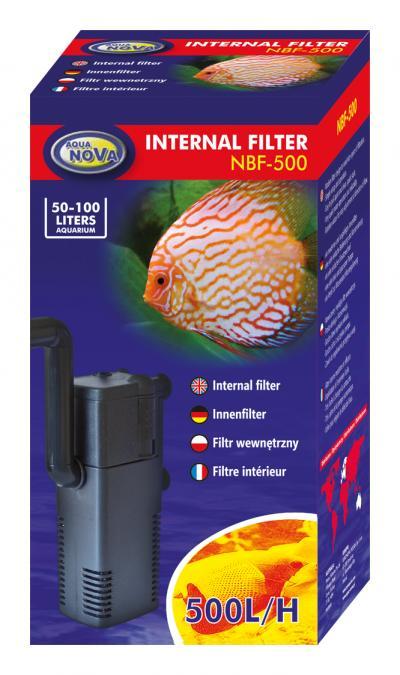 AQUA NOVA vidinis filtras 500l/h 50-100l