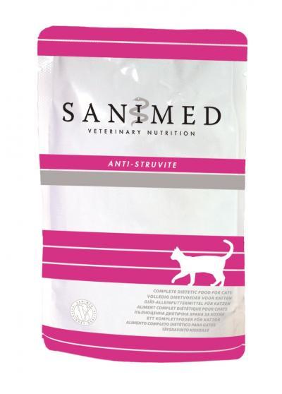 SANIMED Anti-Struvite paštetas katėms 100g
